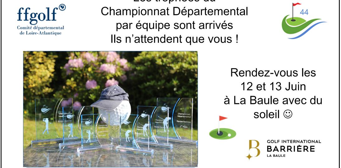 0 - Trophée Champ dep